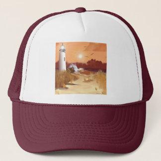 Lighthouse on the Coast Trucker Hat