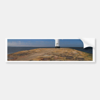 Lighthouse on the Mole in Swinemuende Bumper Sticker