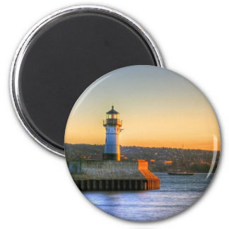 Lighthouse on the North Pier Magnet