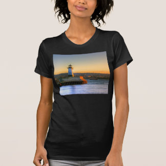 Lighthouse on the North Pier T-shirt