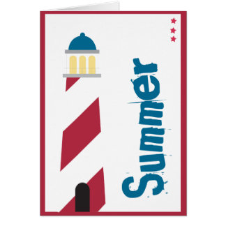 Lighthouse on the Seashore Card