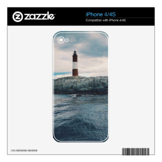 Lighthouse on the Shore Decals For The iPhone 4S