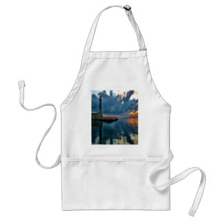 Lighthouse on Water Adult Apron