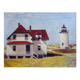 Lighthouse Outpost- postcard