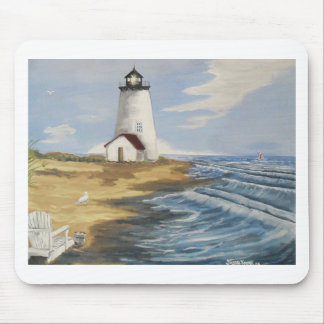 Lighthouse Painting Mouse Pad
