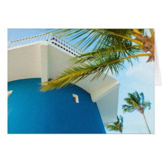 Lighthouse Palm Card