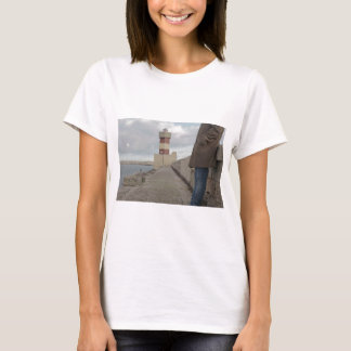 Lighthouse passerby man standing T-Shirt
