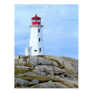 Lighthouse,Peggy's Cove,NS Postcard