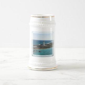 Lighthouse Photo Beer Mug