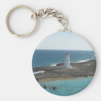 Lighthouse Photo Keychain
