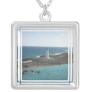 Lighthouse Photo Necklace