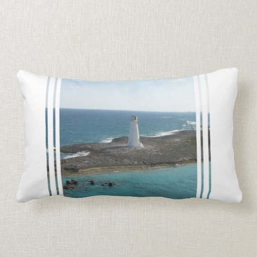 Lighthouse Photo Pillow