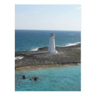 Lighthouse Photo Postcard