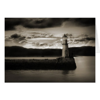 Lighthouse Photography Card