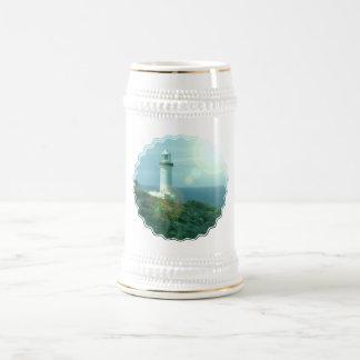 Lighthouse Photos Beer Stein 18 Oz Beer Stein