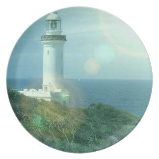 Lighthouse Photos Plate