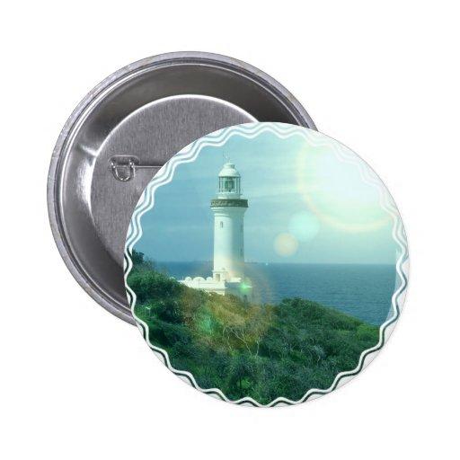 Lighthouse Photos Round Button