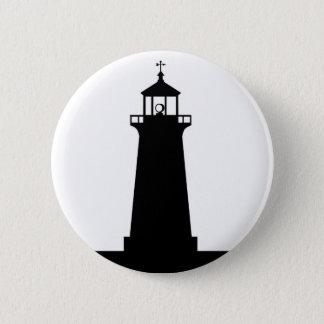 lighthouse pinback button