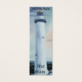 Lighthouse Place Bookmark 2 Mini Business Card