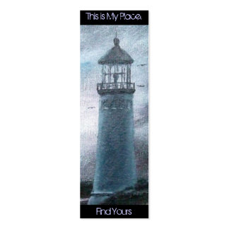 Lighthouse Place Bookmark Double-Sided Mini Business Cards (Pack Of 20)