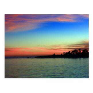 Lighthouse Point, Santa Cruz, CA Postcard