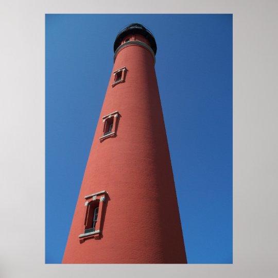 Lighthouse Ponce Inlet Daytona Beach Florida Photo Poster