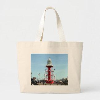 Lighthouse, Port Adelaide, Australia Large Tote Bag