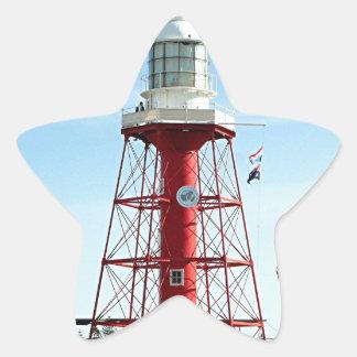 Lighthouse, Port Adelaide, Australia Star Sticker