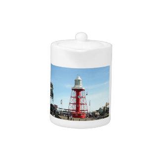 Lighthouse, Port Adelaide, Australia Teapot