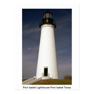 Lighthouse Post Card Postcard