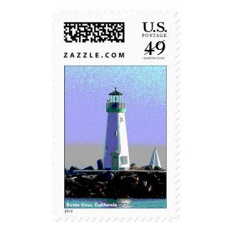 Lighthouse Postage