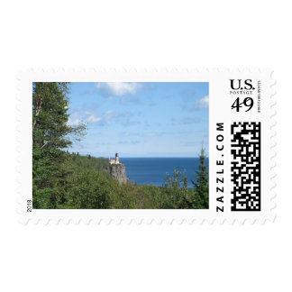 Lighthouse Postage Stamp