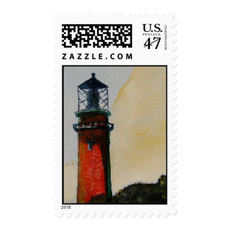 Lighthouse Postage Stamp