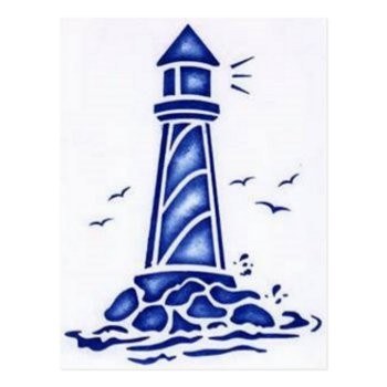 Lighthouse Postcard by CREATIVEBRANDING at Zazzle