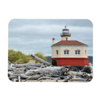 Lighthouse print magnet