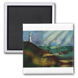 Lighthouse Products 2 Inch Square Magnet