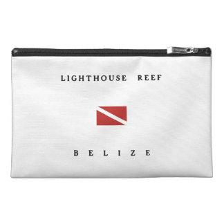 Lighthouse Reef Belize Scuba Dive Flag Travel Accessories Bag