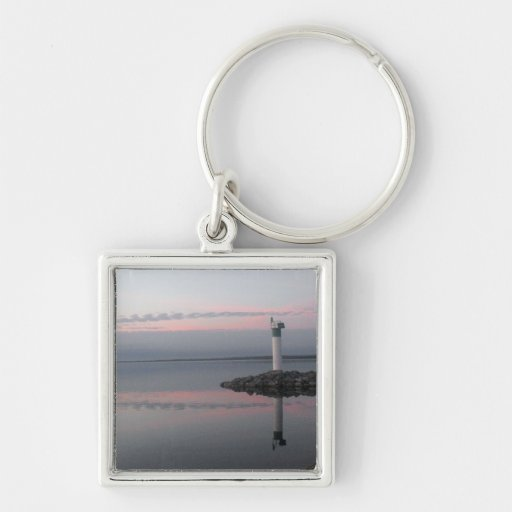 Lighthouse Reflections Keychain