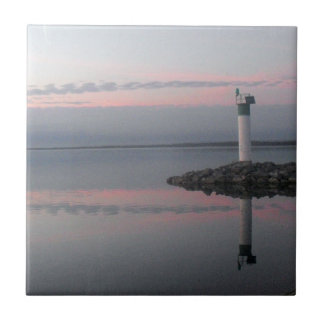 Lighthouse Reflections Tile