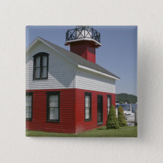 Lighthouse relocated shore in Douglas near 2 Button