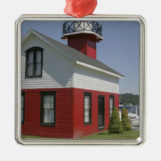 Lighthouse relocated shore in Douglas near 2 Metal Ornament
