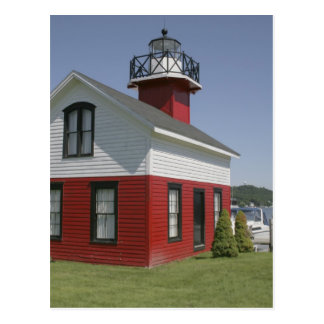 Lighthouse relocated shore in Douglas near 2 Postcard