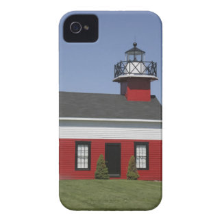 Lighthouse relocated shore in Douglas near iPhone 4 Case-Mate Case