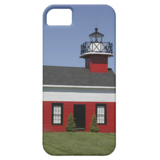 Lighthouse relocated shore in Douglas near iPhone SE/5/5s Case