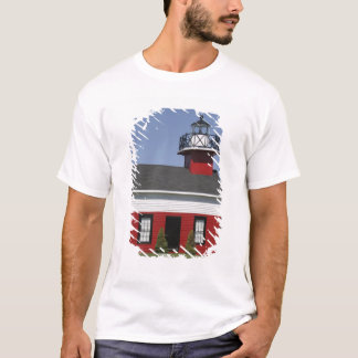 Lighthouse relocated shore in Douglas near T-Shirt