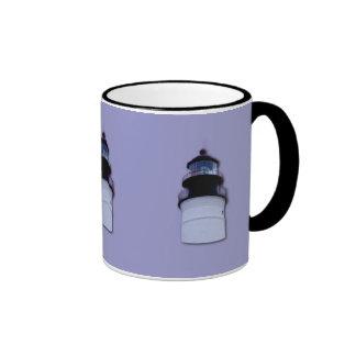 Lighthouse Ringer Coffee Mug