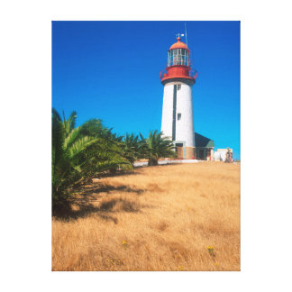 Lighthouse, Robben Island, Cape Town Canvas Print