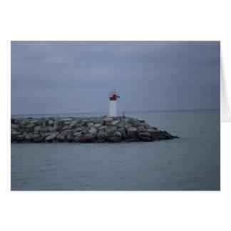 Lighthouse Rocks Card