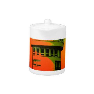 Lighthouse romance 3 teapot
