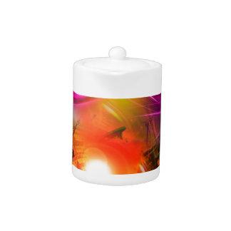 Lighthouse romance 4 teapot